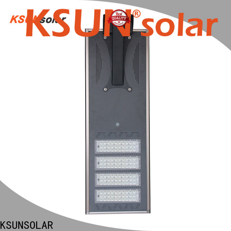 KSUNSOLAR Top solar powered led street light for business for powered by