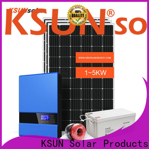 KSUNSOLAR off grid solar systems for sale Supply for Power generation