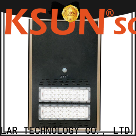 KSUNSOLAR solar street light price factory for Power generation
