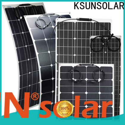 KSUNSOLAR Latest high efficiency flexible solar panels For photovoltaic power generation
