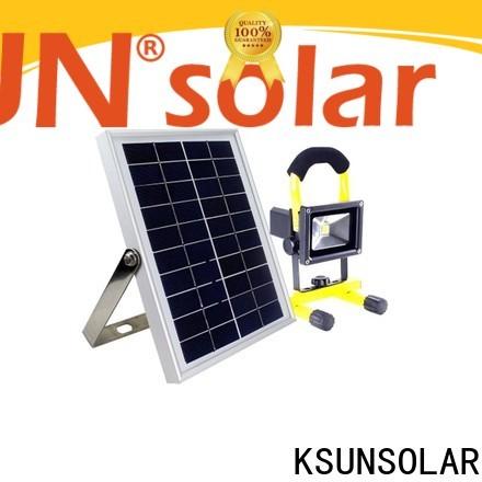 KSUNSOLAR New solar flood light for business for Environmental protection