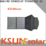 KSUNSOLAR Wholesale folding solar panels sale Suppliers for powered by