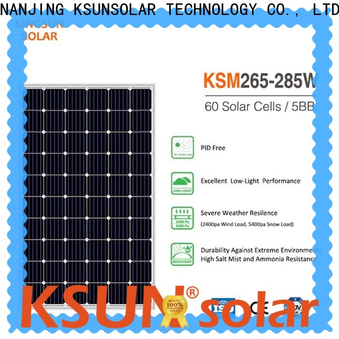 KSUNSOLAR Wholesale photovoltaic solar panel for powered by