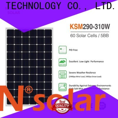 KSUNSOLAR High-quality monocrystalline solar panel suppliers manufacturers for Environmental protection