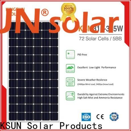 KSUNSOLAR Top monocrystalline panels Supply for Environmental protection