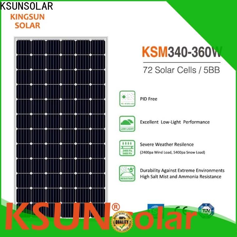 KSUNSOLAR New solar power module factory for Environmental protection