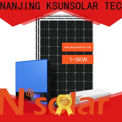 KSUNSOLAR off grid solar power kits for Energy saving