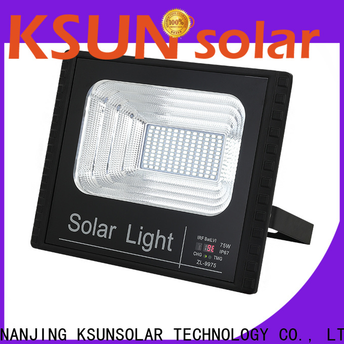 KSUNSOLAR Best solar led lighting factory for Power generation