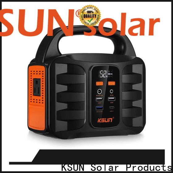 KSUNSOLAR portable power source Suppliers for Power generation