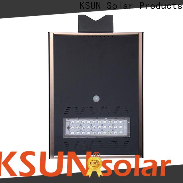 KSUNSOLAR solar powered street lamps company for Environmental protection