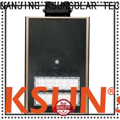 KSUNSOLAR Latest high power solar street light for Power generation