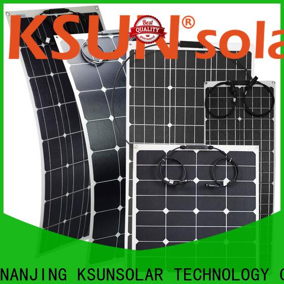 KSUNSOLAR flexible solar panel price manufacturers for Power generation