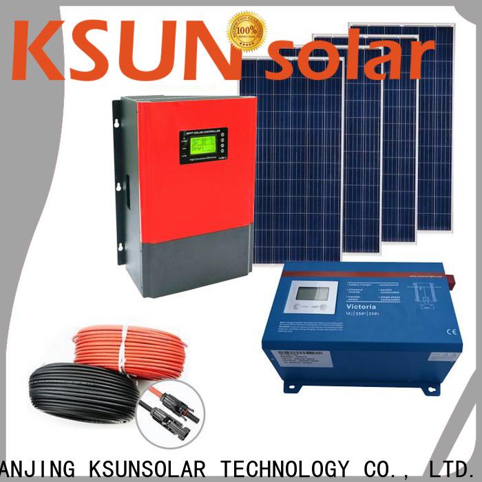 KSUNSOLAR Custom solar power systems prices company for Environmental protection