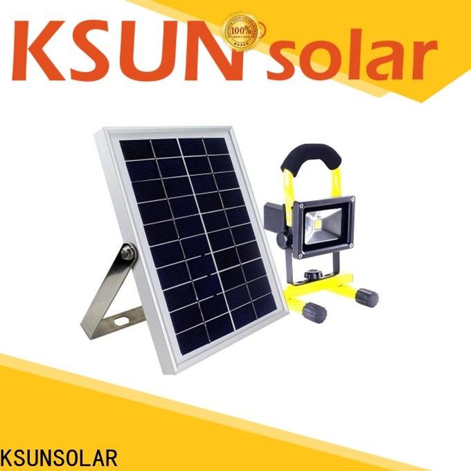 KSUNSOLAR New most powerful solar flood light for business for Environmental protection