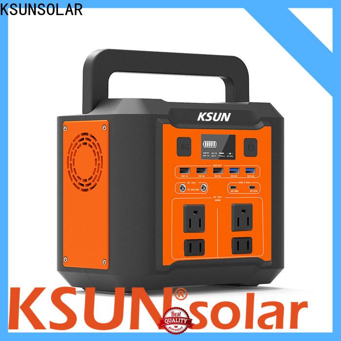 KSUNSOLAR Top portable power unit company for Energy saving