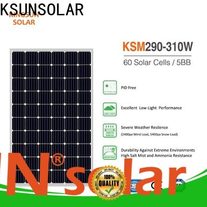 KSUNSOLAR New mono panel Supply for powered by