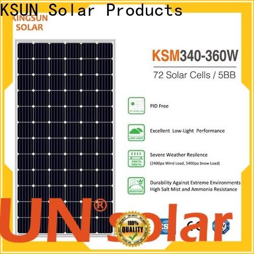 Wholesale best monocrystalline solar panels factory for Power generation