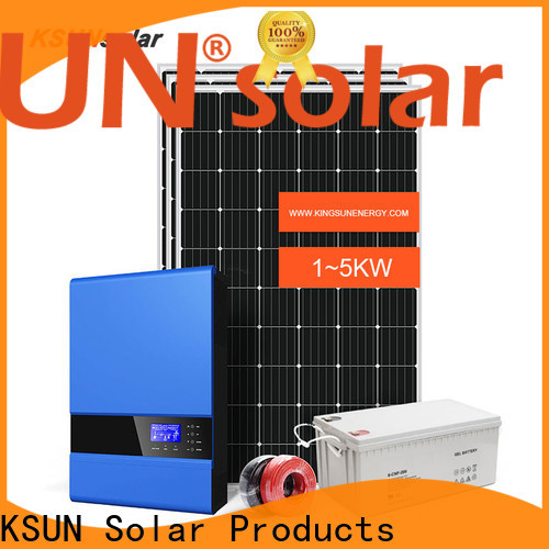 KSUNSOLAR off grid solar systems kits for powered by