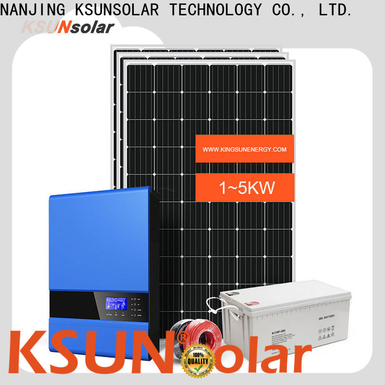 Best off grid solar panel kits for Environmental protection