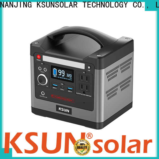 KSUNSOLAR solar powered generator Suppliers for Environmental protection