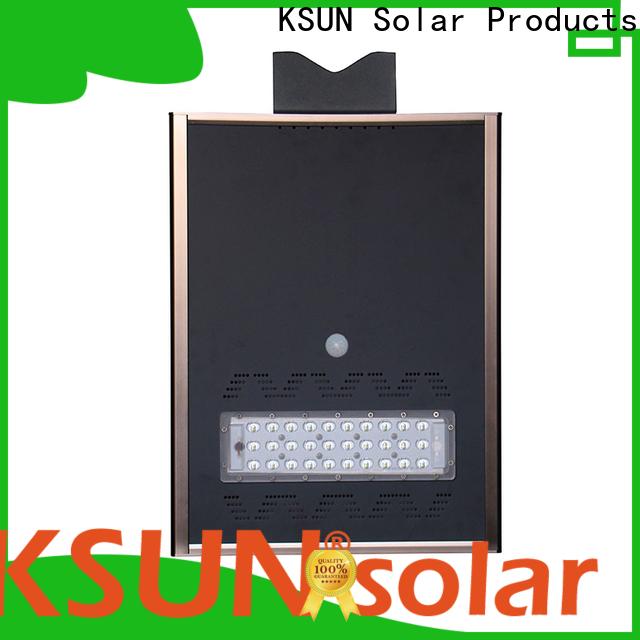 New solar powered street lights price factory for Energy saving
