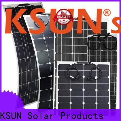KSUNSOLAR flexible solar panels sale for business For photovoltaic power generation