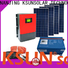 KSUNSOLAR grid tied solar panel system for business for powered by