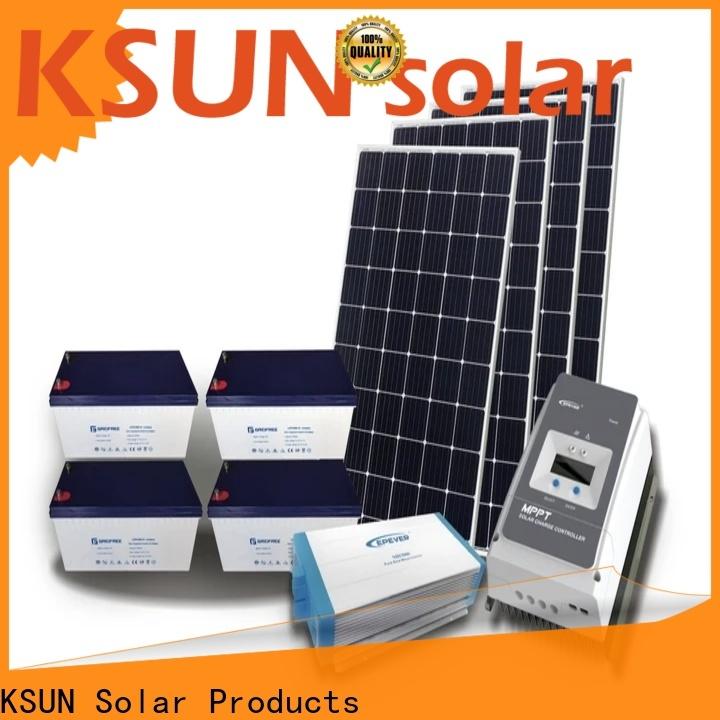 KSUNSOLAR Best hybrid solar panel for business for Power generation