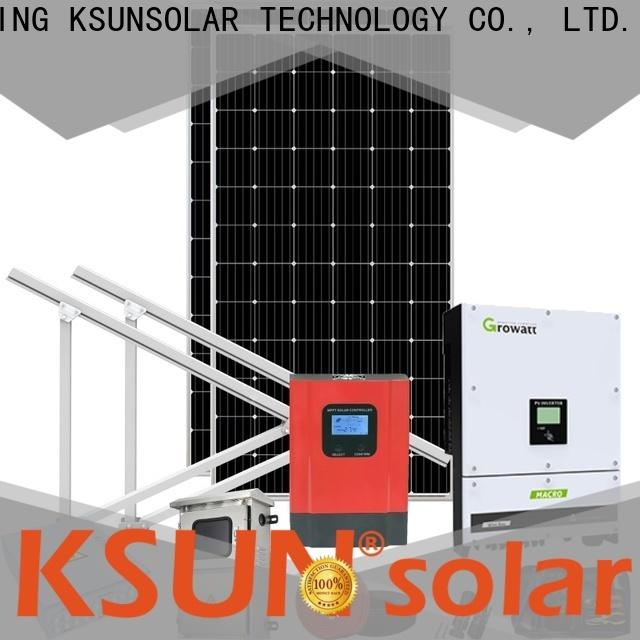 KSUNSOLAR solar system equipment for powered by