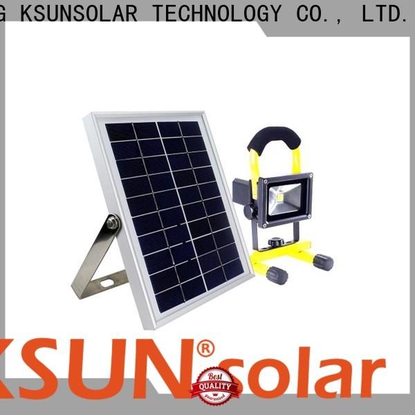 KSUNSOLAR Latest best solar powered flood light for Energy saving