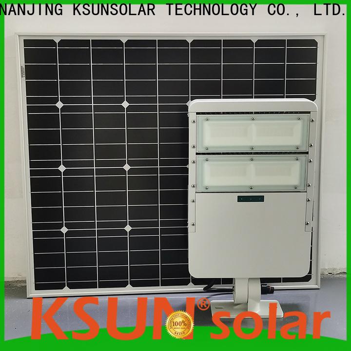 KSUNSOLAR Custom super bright solar flood lights company for Environmental protection