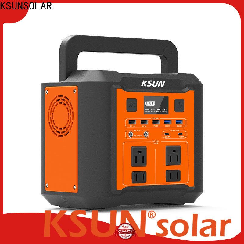 KSUNSOLAR portable power supply solar factory For photovoltaic power generation