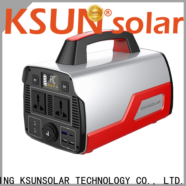 KSUNSOLAR portable power station solar generator for business for powered by