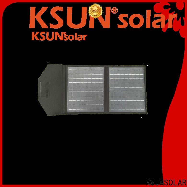 KSUNSOLAR fold up solar panels for Energy saving