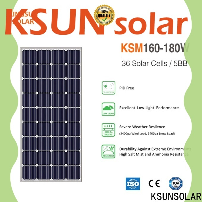 Top mono solar panels Supply For photovoltaic power generation