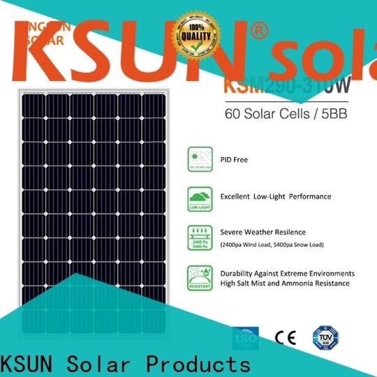KSUNSOLAR mono silicon solar panels manufacturers for Environmental protection
