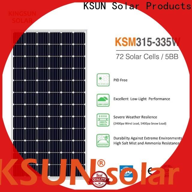 KSUNSOLAR mono panels For photovoltaic power generation