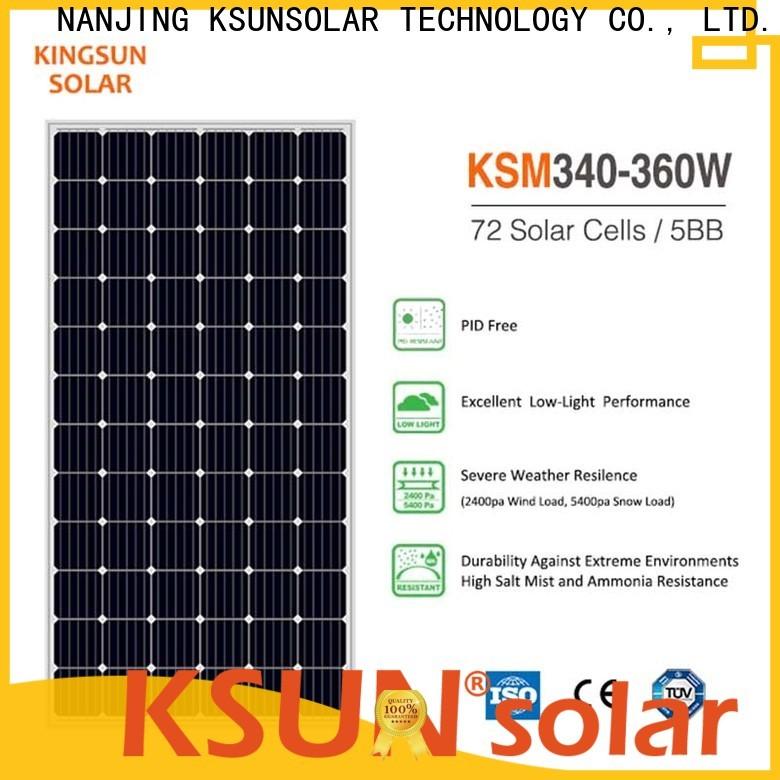 KSUNSOLAR mono solar panels Supply for powered by