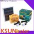 KSUNSOLAR Custom portable solar power supply factory for powered by