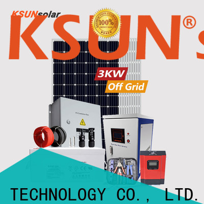 KSUNSOLAR New solar panels off grid power systems Supply for powered by