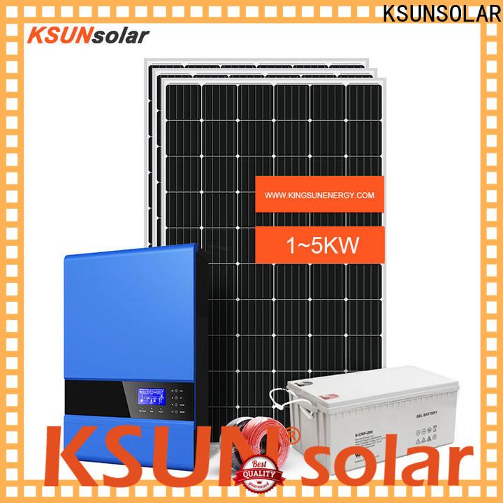 KSUNSOLAR off-grid solar power system for Power generation