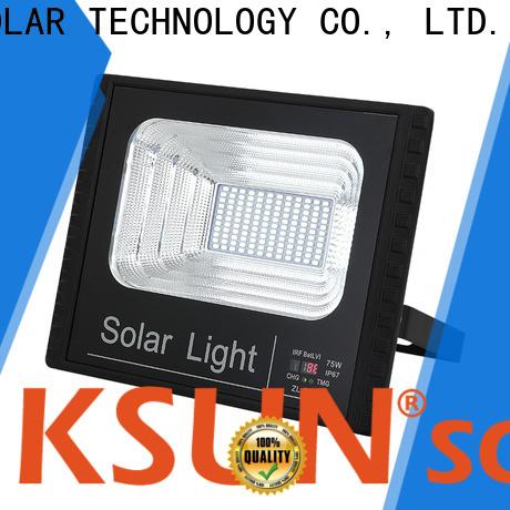 KSUNSOLAR Custom super bright solar flood lights for Environmental protection