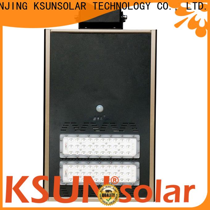 KSUNSOLAR New solar powered led street light company For photovoltaic power generation