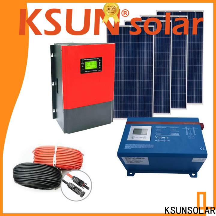 High-quality solar system equipment company for Power generation