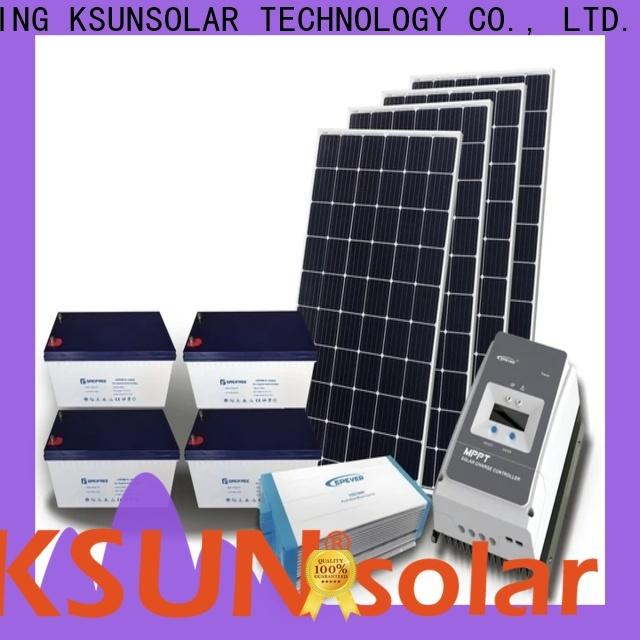 KSUNSOLAR New off grid solar panel system Supply for Energy saving