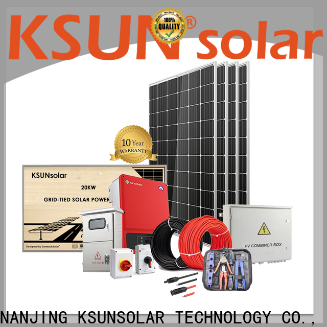 KSUNSOLAR solar power system companies Suppliers for Environmental protection