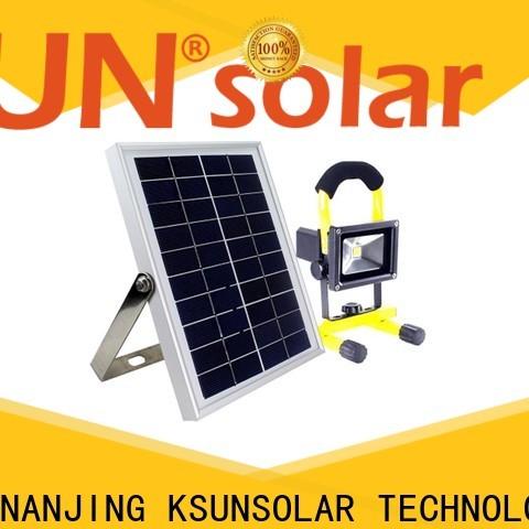 KSUNSOLAR High-quality outdoor solar flood lights Supply for Energy saving