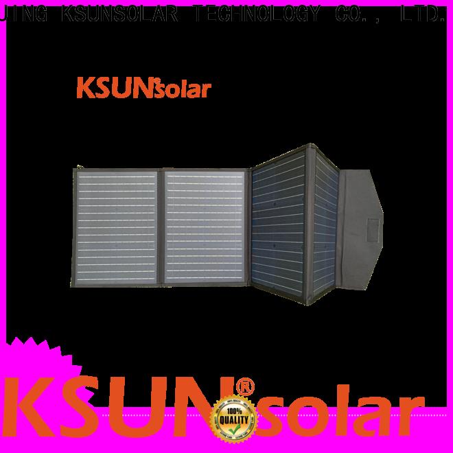 KSUNSOLAR Latest flexible folding solar panels manufacturers for Power generation