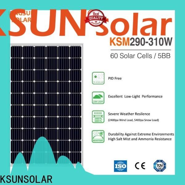 KSUNSOLAR New monocrystalline silicon solar module Suppliers for Energy saving