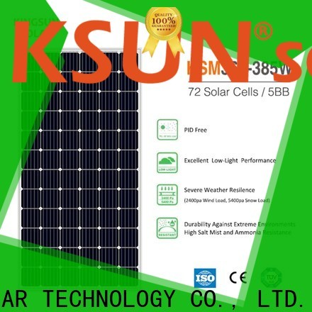 KSUNSOLAR Best home solar panel systems Suppliers for Energy saving